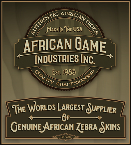AfricanGame.com - worlds largest supplier of genuine african zebra skins