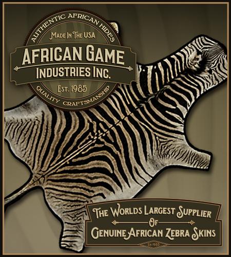 AfricanGame.com - Zebra Hides