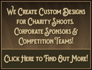 African Game Industries Custom Designs for Charity Shoots, Shooting Competition Teams, and Corporate Sponsors